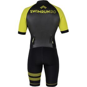 Colting Wetsuits Swimrun Go Traje Triatlón Mujer, negro/amarillo